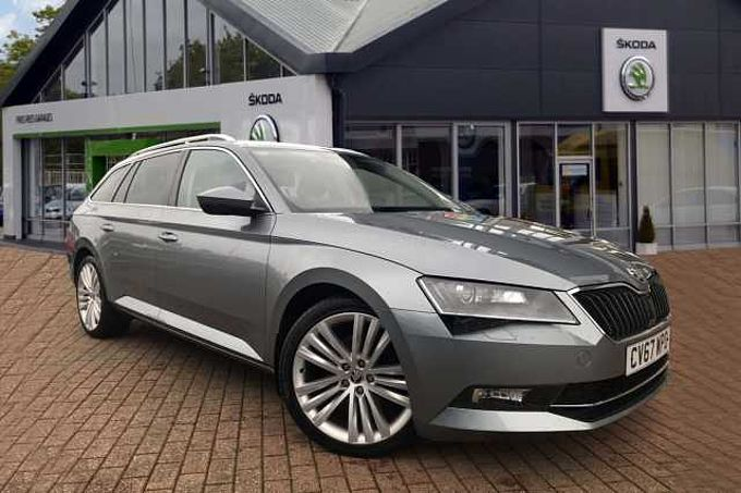 SKODA Superb Diesel Estate 2.0 TDI CR 190 SE L Executive 5dr DSG