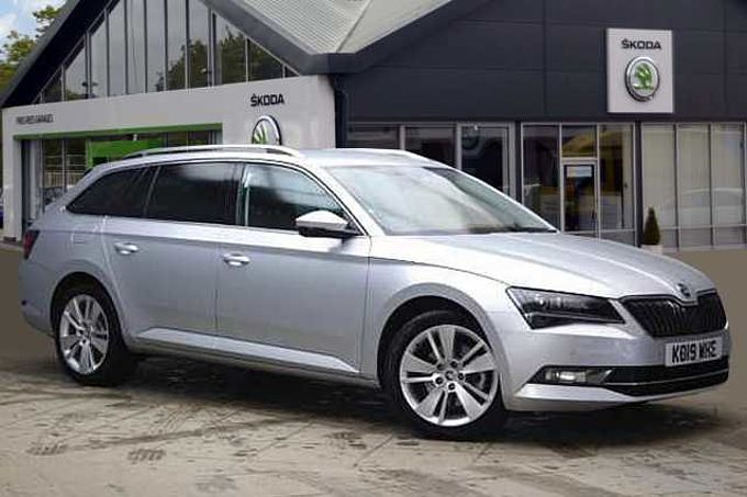 SKODA Superb 1.5 TSI 150ps SE L Executive ACT DSG Estate